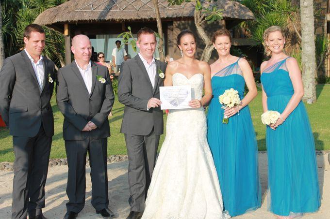 JEEVA KLUI Wedding of Caitlin and Adam by lombok wedding planner - 009