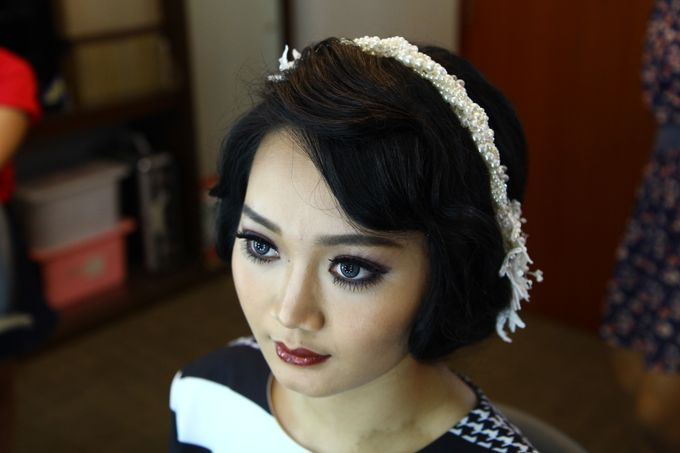 Bridal Makeup and Hairdo by Lee Cinthya Makeup Artist - 002