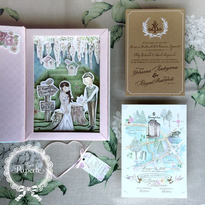 Courtesy of Yohannes & Abigail by The Paperie - 003