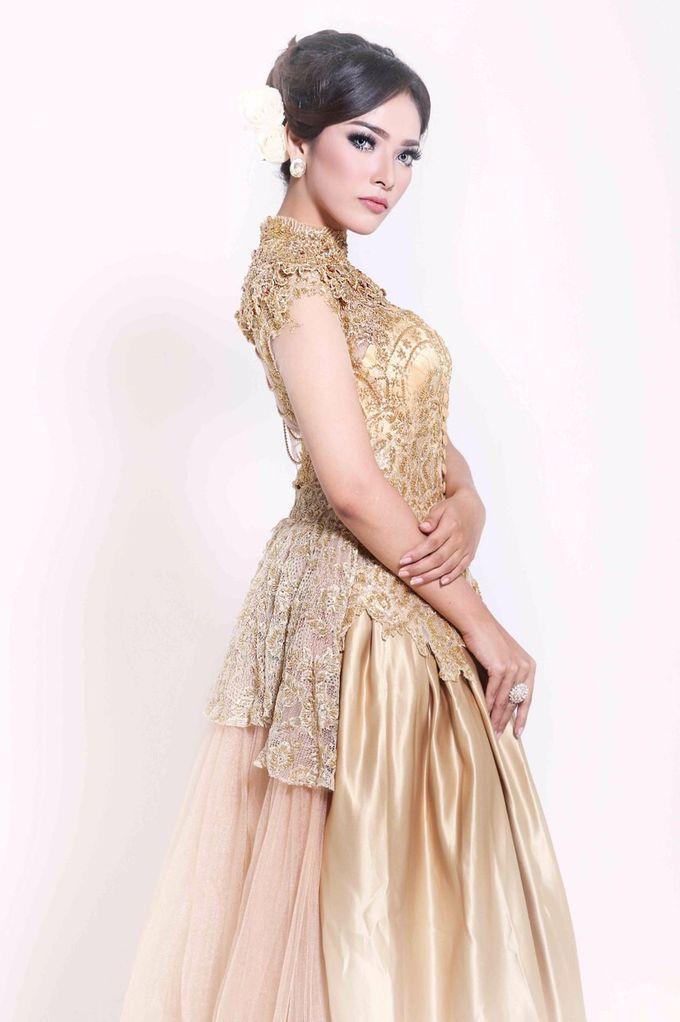 Golden Gown by Stephanie Wedding Bride - 002