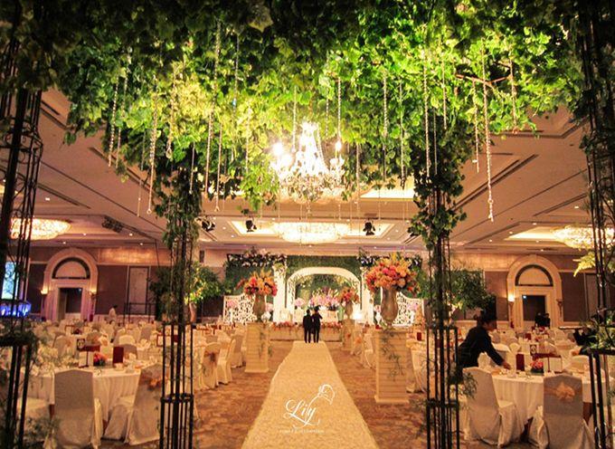 Shangrila Indonesian Ballroom by Lily Florist & Decoration - 004