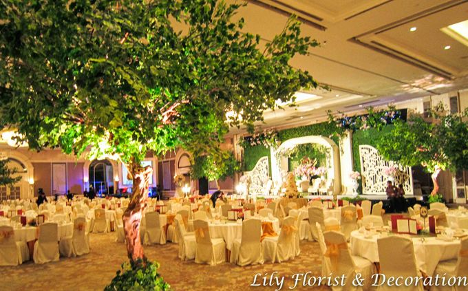 Shangrila Indonesian Ballroom by Lily Florist & Decoration - 006
