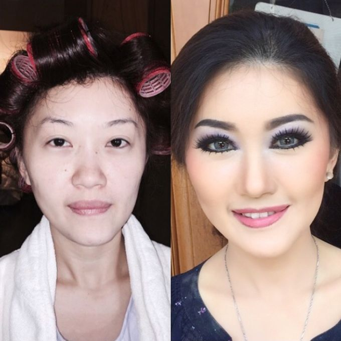 Before - After MakeUp & Hair Do by Andiyanto Salon - 009