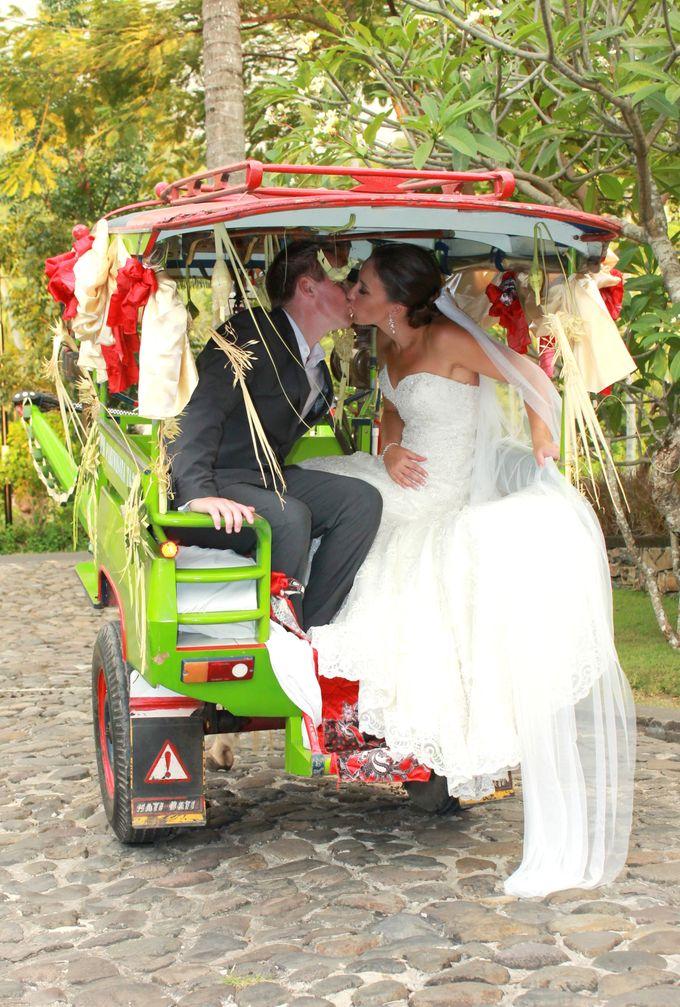JEEVA KLUI Wedding of Caitlin and Adam by lombok wedding planner - 021