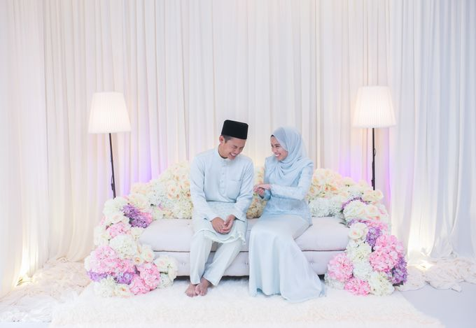 Engagement Ceremony of Hajar & Farith by The Lucid Company - 003