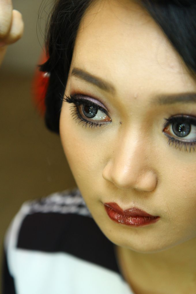 Bridal Makeup and Hairdo by Lee Cinthya Makeup Artist - 003