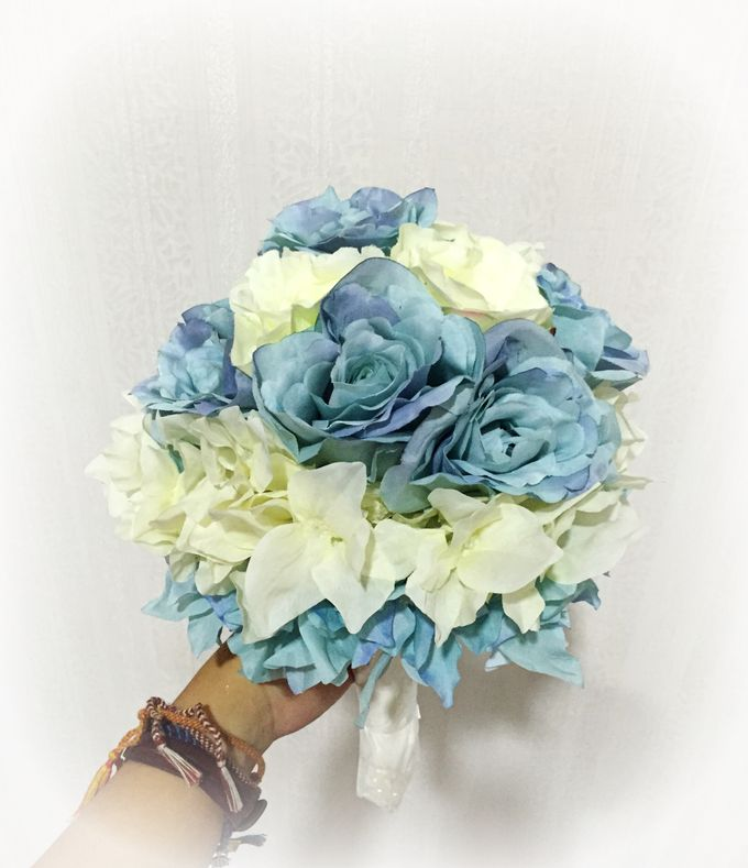 Wedding hand bouquet by Love Flower - 003