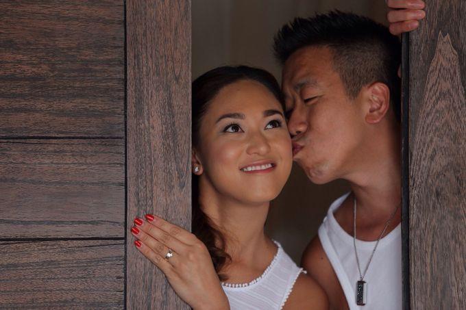 Pre Wedding Photoshoot of M & N by D'studio Photography Bali - 002