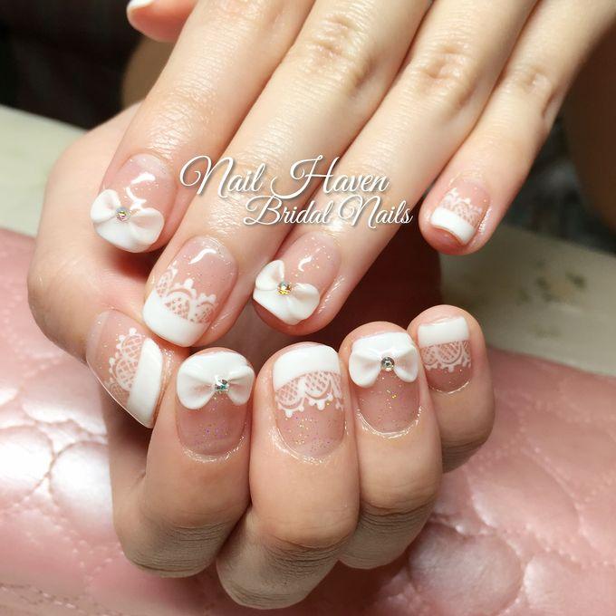 Customized Bridal Nailart by Nail Haven - 003