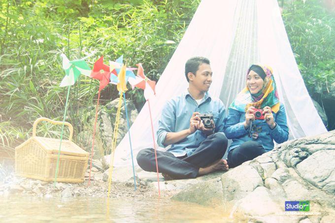 Prewedding Wachid & Nurul by Studio 17 - 002