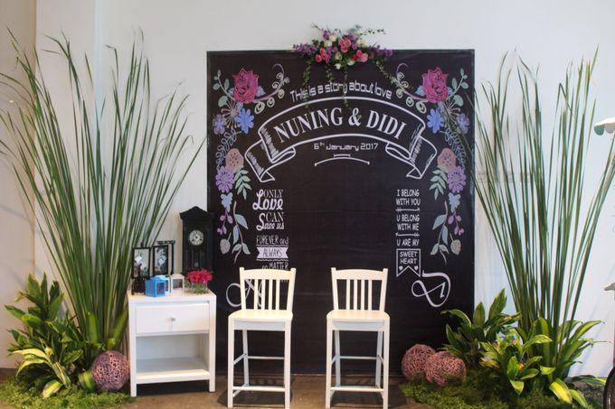 Wedding Nuning and Didi by B'steak Function Hall - 002