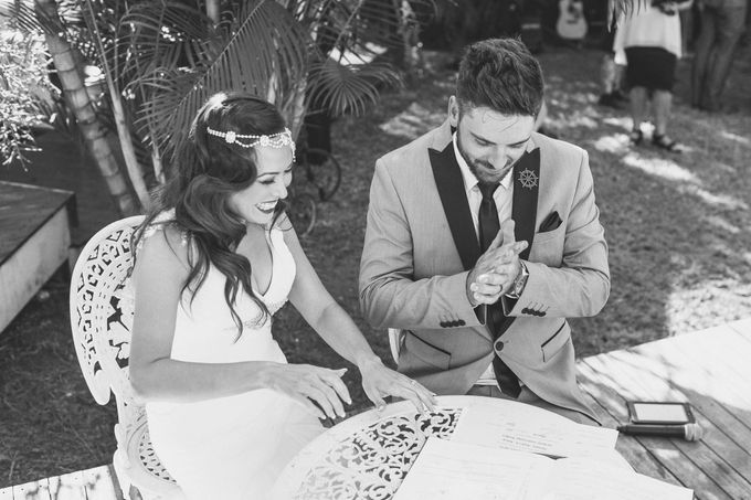 Vintage wedding with a modern edge by Tiara bridal artistry - 011