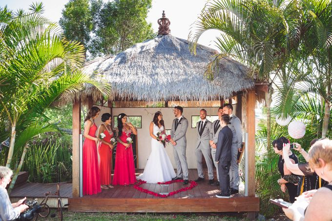 Vintage wedding with a modern edge by Tiara bridal artistry - 013