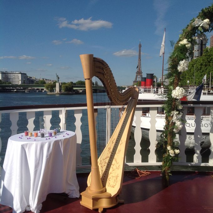 Ceremony music by Harpists and Musicians in Paris - 010