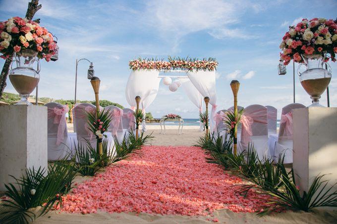 Wedding of Lin Kunkun and Yang Yiqiu by Courtyard by Marriott Bali Nusa Dua - 020
