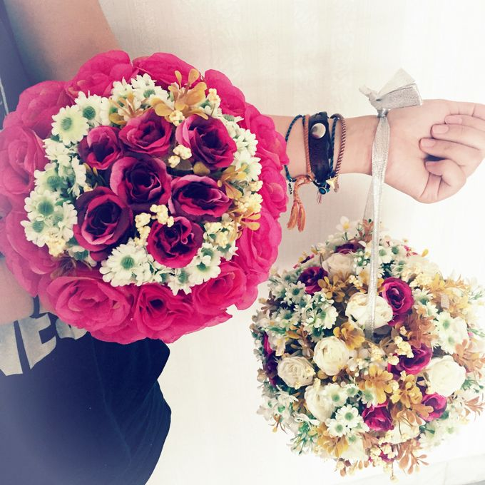 Wedding hand bouquet by Love Flower - 004