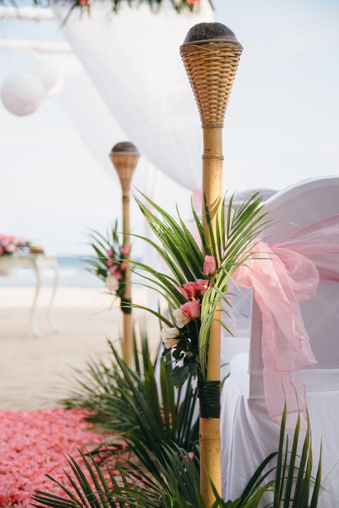 Wedding of Lin Kunkun and Yang Yiqiu by Courtyard by Marriott Bali Nusa Dua - 021