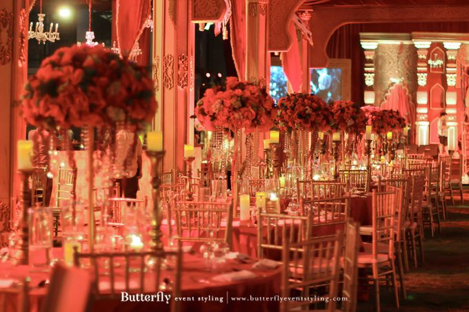 Sangeet Decoration by Butterfly Event Styling - 011