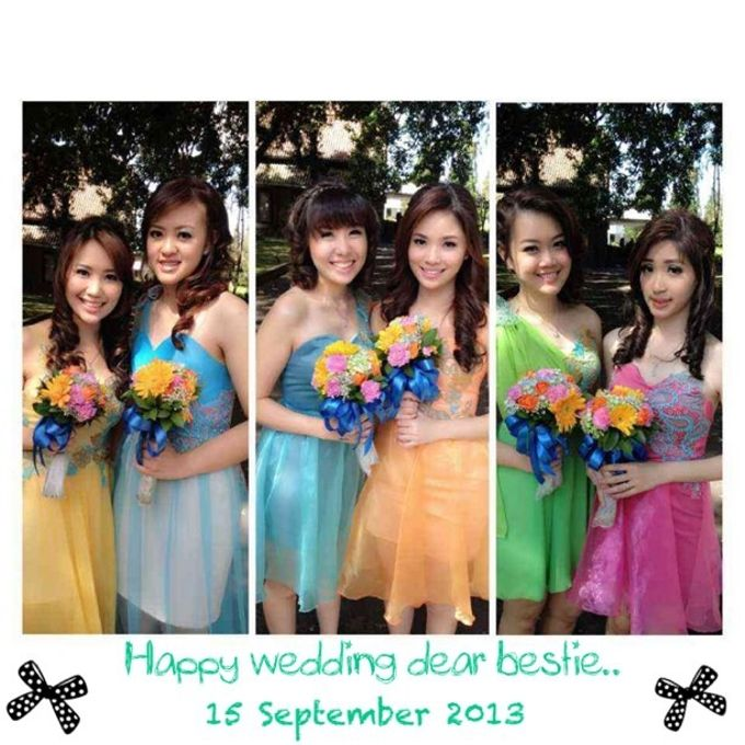 BRIDESMAID / POLONAISE by CLARISSA HARYADI - 016