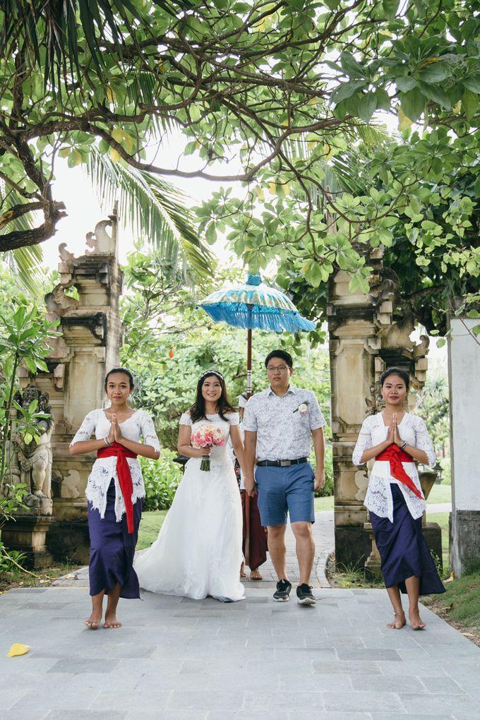 Wedding of Lin Kunkun and Yang Yiqiu by Courtyard by Marriott Bali Nusa Dua - 022