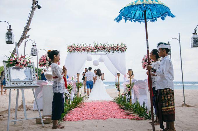 Wedding of Lin Kunkun and Yang Yiqiu by Courtyard by Marriott Bali Nusa Dua - 023