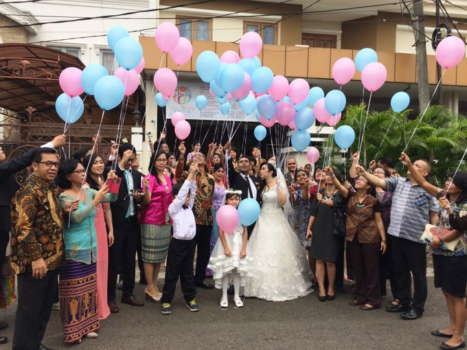 THE WEDDING OF RONALD AND MEILISA by JS Wedding Planner Organizer and Entertainment - 005