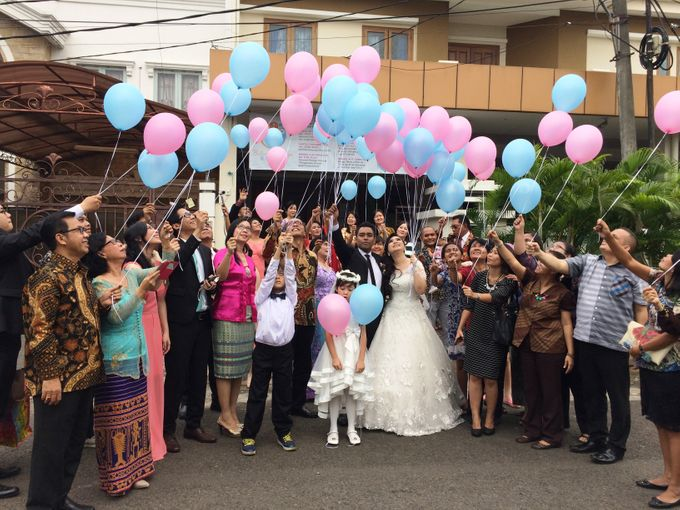 THE WEDDING OF RONALD AND MEILISA by JS Wedding Planner Organizer and Entertainment - 006