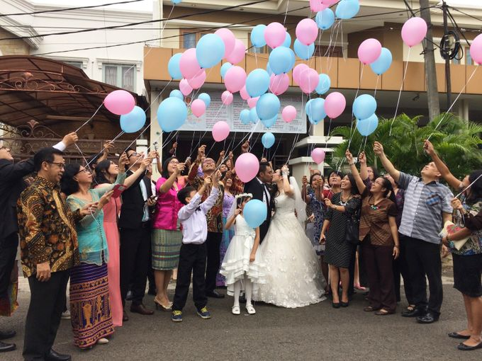THE WEDDING OF RONALD AND MEILISA by JS Wedding Planner Organizer and Entertainment - 007