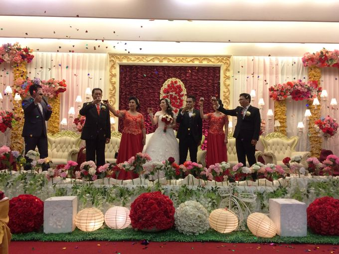 THE WEDDING OF RONALD AND MEILISA by JS Wedding Planner Organizer and Entertainment - 013