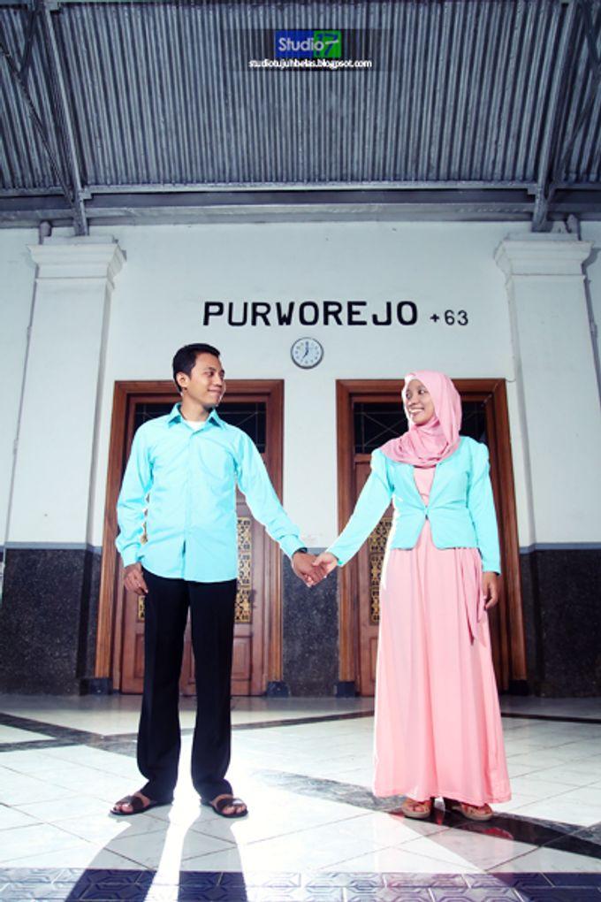 Prewedding Wachid & Nurul by Studio 17 - 006