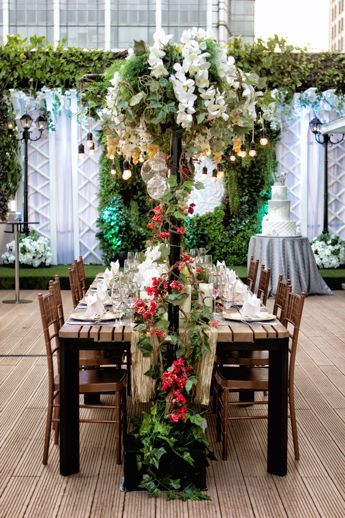 An semi outdoor venue up and above, UNA by Pullman Jakarta Indonesia - 003