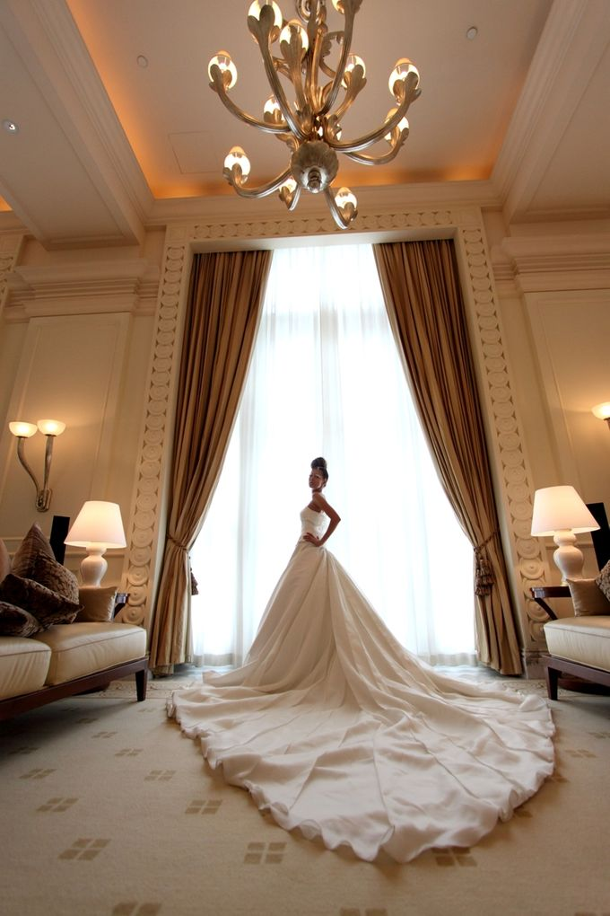 Bridal Photo Shoot by The Fullerton Hotels - 001