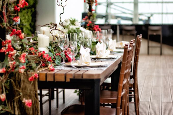 An semi outdoor venue up and above, UNA by Pullman Jakarta Indonesia - 002