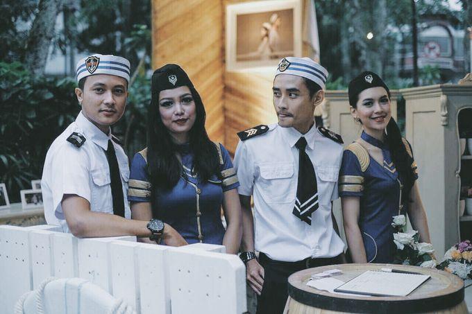 #TIKAUUSBERLABUH Nautical Wedding by Malaka Hotel Bandung - 017