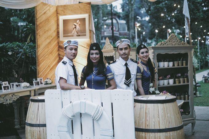 #TIKAUUSBERLABUH Nautical Wedding by Malaka Hotel Bandung - 018