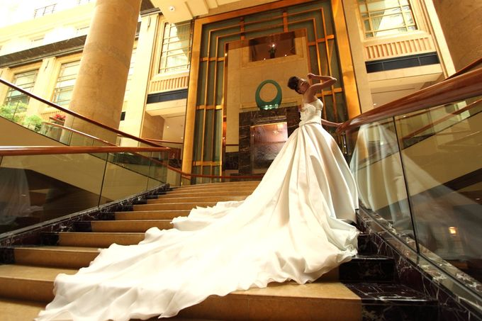 Bridal Photo Shoot by The Fullerton Hotels - 005