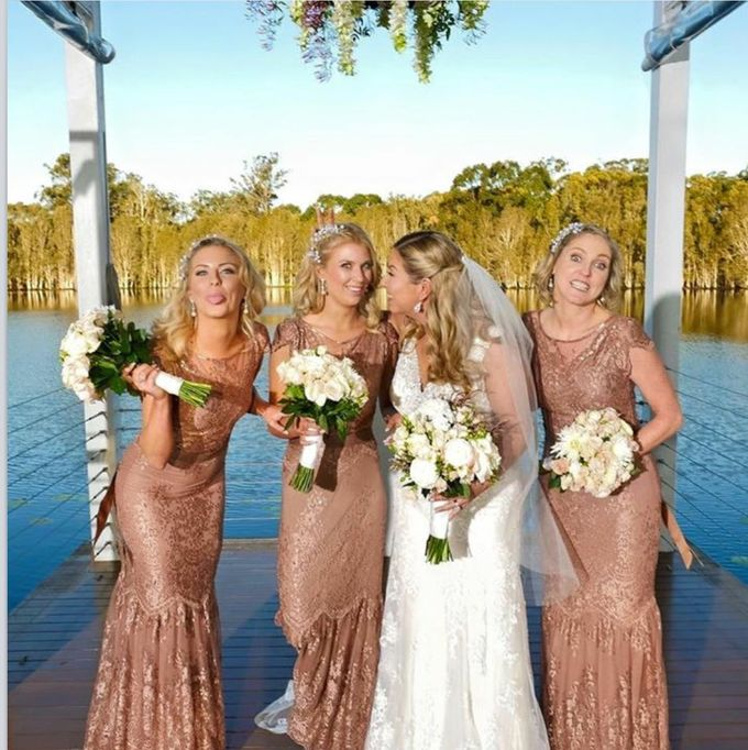 Tracys Wedding Sirromet by Tiara bridal artistry - 004