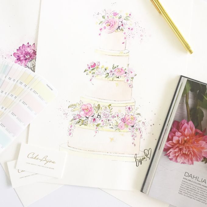 Design Process and your Consultation by Cake Bijou - 001