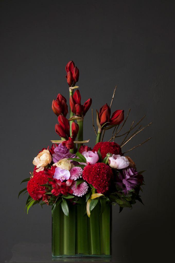 Flora Styling in vase by Beato - 001