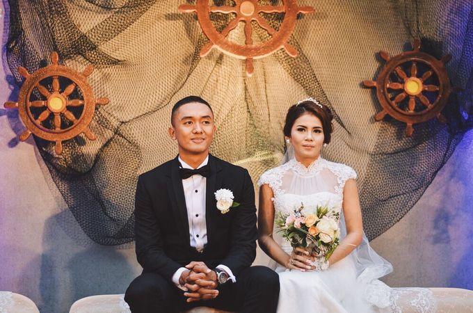 #TIKAUUSBERLABUH Nautical Wedding by Malaka Hotel Bandung - 007