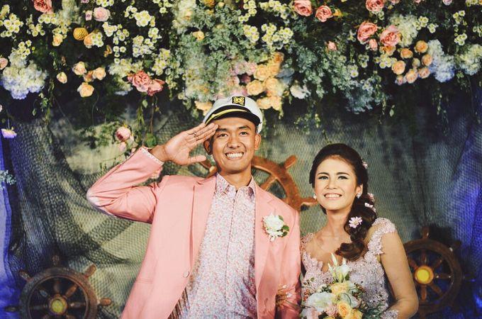 #TIKAUUSBERLABUH Nautical Wedding by Malaka Hotel Bandung - 009