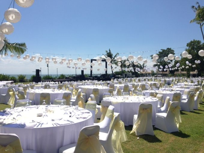 Reception Dinner Set Up By Intercontinental Bali Resort Bridestory