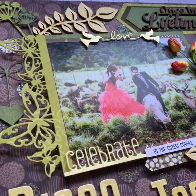 WEDDING SCRAPFRAME 30X30CM by DFLcraft - 003