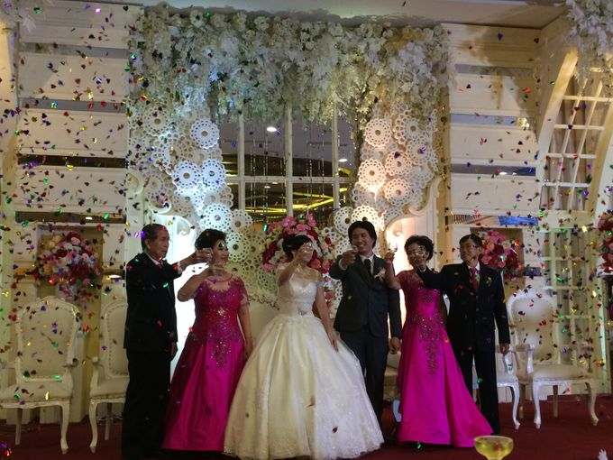 THE WEDDING OF ANDREY AND SHERLY by JS Wedding Planner Organizer and Entertainment - 022