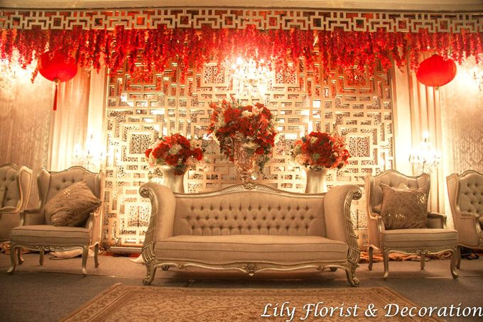 Oriental Chinese Themed decoration by Lily Florist & Decoration - 004