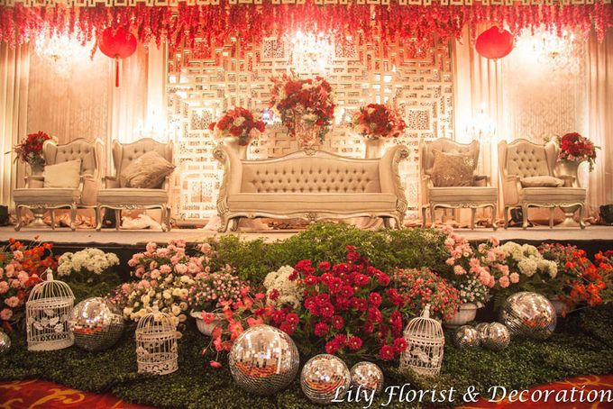 Oriental Chinese Themed decoration by Lily Florist & Decoration - 001