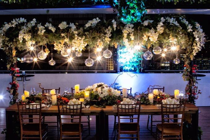 An semi outdoor venue up and above, UNA by Pullman Jakarta Indonesia - 004