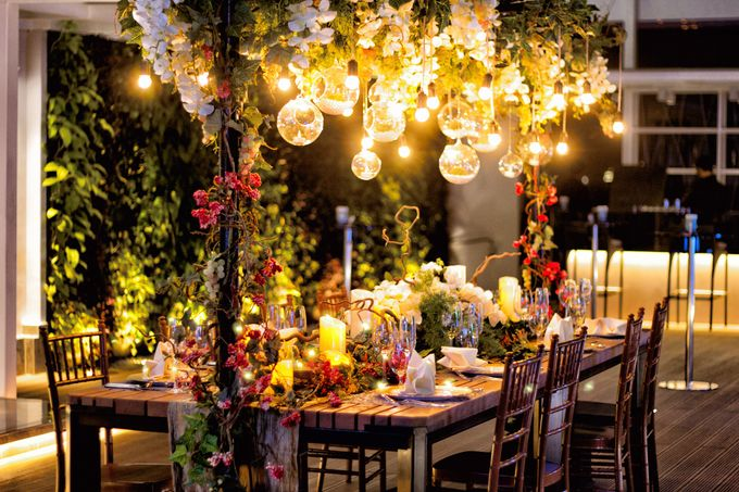 An semi outdoor venue up and above, UNA by Pullman Jakarta Indonesia - 001