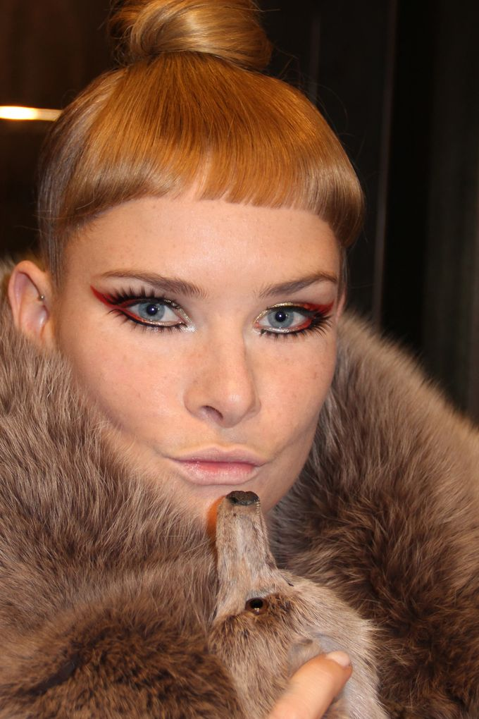 New York Fashion Week by Elza Finishya Makeup Artist - 009