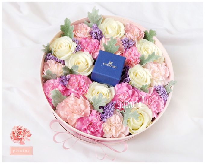 ring box by Pivoine Flower Shop - 005
